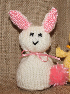 Knit An Easter Bunny Free Knitting Patterns Toys To Knit