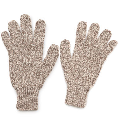 Knit Mens Gloves Free Knitting Pattern Craft Ideas