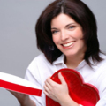 123 woman with heart-shaped box - Celebrate St Valentine's Day - allaboutyou.com