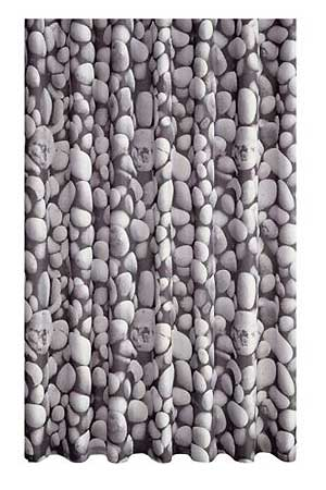 Pebble Print Shower Curtain BQ