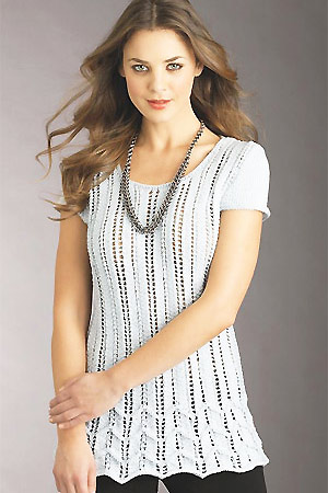 Get The Lacy Look Free Knitting Patterns Allaboutyou