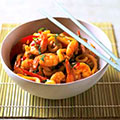 Sweet and sour prawns with noodles - Chinese recipes - food - allaboutyou.com