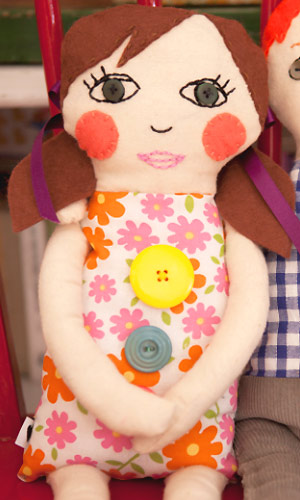 Sew A Girl Rag Doll Free Sewing Pattern Toys To Make