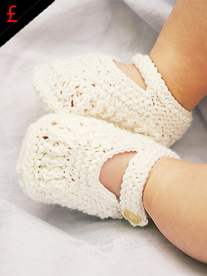 PR baby bootees, Rowan pattern to buy - Knitting patterns - Craft - allaboutyou.com