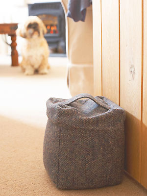 Free sewing pattern: doorstop :: allaboutyou.com