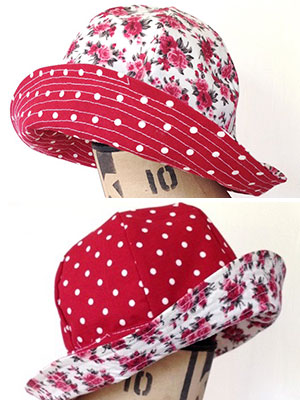 Sew a baby\'s summer hat :: Make baby clothes :: Free sewing pattern ...