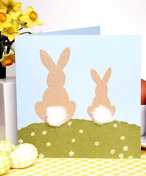 How To Make An Easter Card Craft Ideas For Easter Allaboutyou Com
