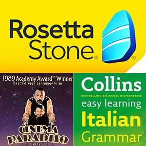 Learning Italian with Rosetta Stone, Collins Italian Gramma and Cinema Paradiso - Carol Muskoron's blog - allaboutyou.com