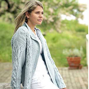 Free Knitting Pattern Ladies Aran Jacket : Knit a patchwork Aran jacket: free pattern :: allaboutyou.com