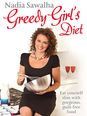 Nadia Sawalha's Greedy Girl's Diet cookbook - healthy cookbooks and recipes - food and UK recipes - allaboutyou.com