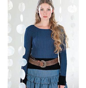 34e184c0f Knit a ribbed sweater    free knitting patterns    sweater patterns ...