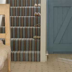 Hall Carpet Striped - Carpet Vidalondon