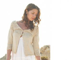 Knit a summer cardigan: free pattern