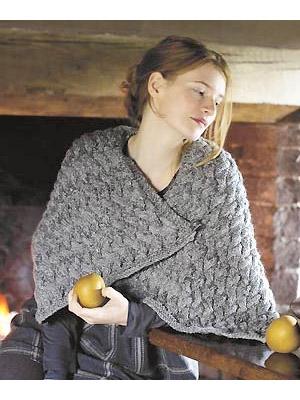 Knit A Cosy Wrap Free Knitting Pattern Cable Knit Pattern Uk