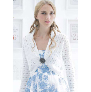 1cfdc6850 Knit a long-sleeved shrug    free knitting pattern    Free shrug ...