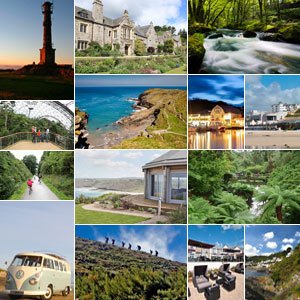 Montage of things to do in Cornwall - Cornwall days out: 30+ special things to do - Country&travel - allaboutyou.com