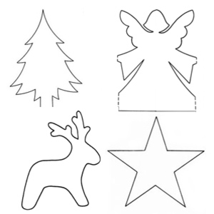 free Christmas craft templates - Christmas craft - allaboutyou.com
