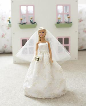 Sew A Wedding Dress For A Doll Doll S Clothes To Make Free