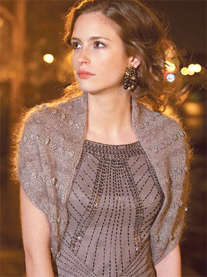 Knit An Evening Shrug Free Knitting Patterns Knit Shrug