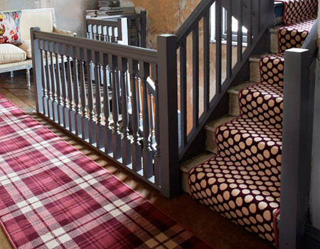 Wonderful Spotted Stair Carpet, Alternative Flooring   Hallway Ideas   Homes    Allaboutyou.com