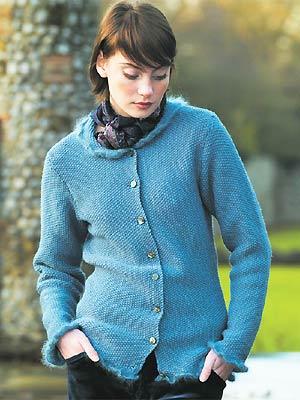 Knit A Moss Stitch Cardigan Free Knitting Pattern Cardigan
