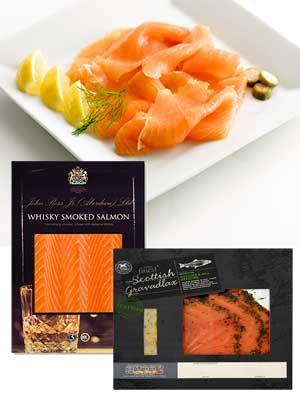Smoked salmon, Tesco, John Ross Jr - Burns Night food - Scottish recipes - food - allaboutyou.com