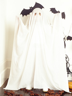 PP child's Halloween ghost costume to make - Fashion makes - Craft - allaboutyou.com