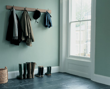 green fired earth paint, hallway colours,hall colours,hallway decor,hall  decor