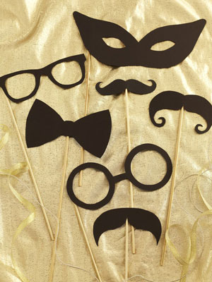 Paper party disguises - Make easy party disguises - Craft - allaboutyou.com