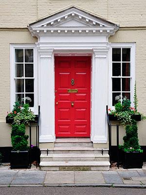 Red Front Door, Mylands Paint   Front Door Colours  Home Decor Ideas   Homes