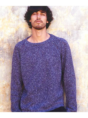 How To Knit A Mans Crew Neck Jumper Free Knitting Patterns