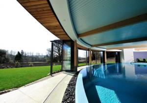 Pool at The Cornwall Spa Hotel & Estate