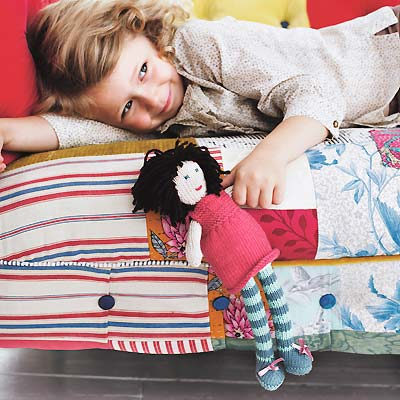 Knit A Rag Doll Free Knitting Patterns Allaboutyou
