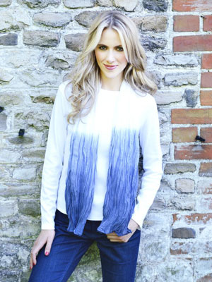 Ombre scarf - Make something to wear with a metre of fabric - Fashion makes - Craft - allaboutyou.com