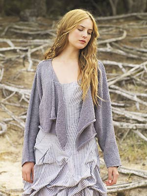 Knit A Cropped Drape Cardigan Free Knitting Pattern Cardigan