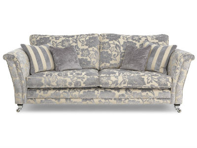Velvet Floral Print Sofa, DFS   Living Room Furniture   Homes    Allaboutyou.com