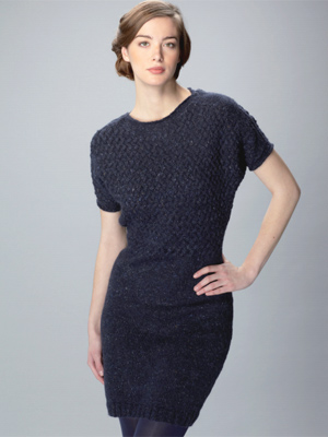 Knit A Woven Cable Tunic Dress Free Knitting Patterns Craft