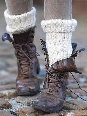 Knit Cable Socks Free Knitting Pattern Craft Ideas