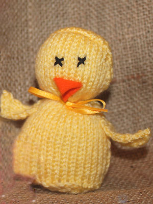 Knit An Easter Chick Free Knitting Pattern Knitting For