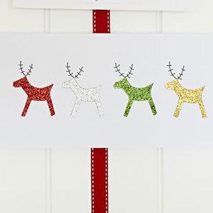 Reindeer Christmas Cards Ideas.Make A Reindeer Christmas Card Christmas Craft Ideas