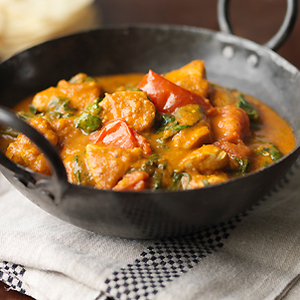 the Hairy Bikers balti chicken curry recipe, top Uk celebrity chef recipes, food channel, allaboutyou.com