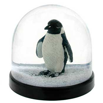 penguin snow dome notonthehighstreetcom penguin christmas decorations uk homes allaboutyou