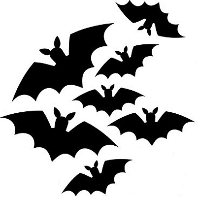 halloween bat template make your own halloween decorations craft allaboutyoucom - Halloween Bat Decorations