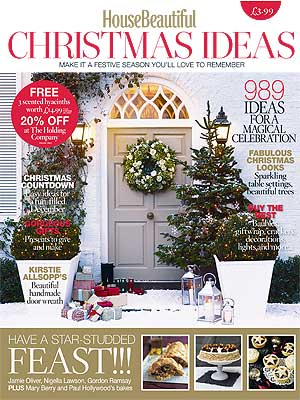 House Beautiful Christmas Ideas Magazine Christmas Home Decor Ideas Homes Allaboutyou Com
