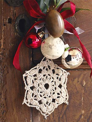 Crochet Christmas Stars Free Crochet Patterns Allaboutyou Com