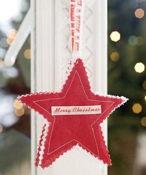 christmas star to sew sew a christmas star decoration free sewing pattern christmas - Christmas Star Decorations