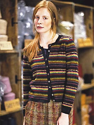 Knit A Super Stripy Cardigan Free Knitting Pattern Cardigan