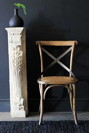 Concrete decorative pillar, Rockett St George - white anc cream room decor ideas - homes - allaboutyou.com